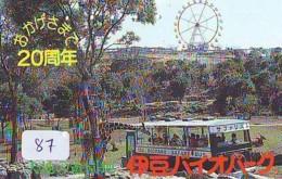 Télécarte - Parc D'attractions - Montagne Russe - ROLLER COASTER (87)– ACHTBAAN Pretpark - ACHTERBAHN Vergnügungspark - Jeux