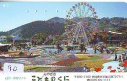 Télécarte - Parc D'attractions - Montagne Russe - ROLLER COASTER (90)– ACHTBAAN Pretpark - ACHTERBAHN Vergnügungspark - Jeux