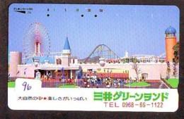 Télécarte - Parc D'attractions - Montagne Russe - ROLLER COASTER (96)– ACHTBAAN Pretpark - ACHTERBAHN Vergnügungspark - Jeux