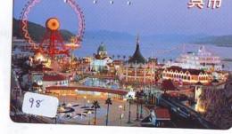Télécarte - Parc D'attractions - Montagne Russe - ROLLER COASTER (98)– ACHTBAAN Pretpark - ACHTERBAHN Vergnügungspark - Jeux