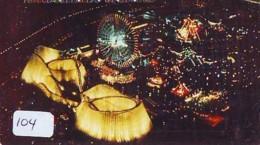 Télécarte - Parc D'attractions - Montagne Russe - ROLLER COASTER (104)– ACHTBAAN Pretpark - ACHTERBAHN Vergnügungspark - Jeux