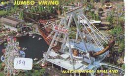 Télécarte - Parc D'attractions - Montagne Russe - ROLLER COASTER (109)– ACHTBAAN Pretpark - ACHTERBAHN Vergnügungspark - Jeux