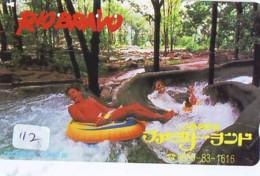 Télécarte - Parc D'attractions - Montagne Russe - ROLLER COASTER (112)– ACHTBAAN Pretpark - ACHTERBAHN Vergnügungspark - Jeux