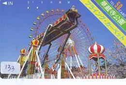 Télécarte - Parc D'attractions - Montagne Russe - ROLLER COASTER (133)– ACHTBAAN Pretpark - ACHTERBAHN Vergnügungspark - Jeux
