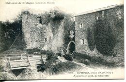 N°75762 -cpa Château De Bretagne -Comper à M. De Charette- - Castelli