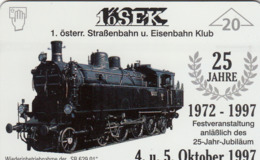 AUSTRIA - 1. öSEK Das Heizhaus 1 (Train) , F218 , Tirage 1010, 09/97 - Oostenrijk