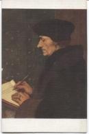 CPA - HOLBEIN H. - PORTRAIT D'ERASME - Edition Nomis - Paintings