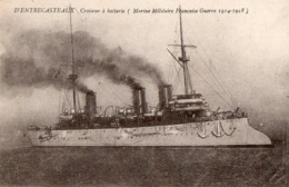 Croiseur D' ENTRECASTEAUX - Oorlog