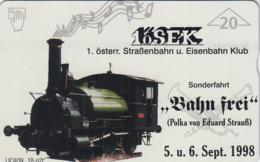 AUSTRIA - 1. öSEK Das Heizhaus 3 (Train) , F332 , Tirage 1010, 07/98 - Oostenrijk