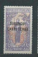 OUBANGUI  N° 12  *  TB 1 - Unused Stamps