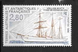 "1996 - 206**MNH - Voilier ""Yves De Kerguelen"" - Unused Stamps"