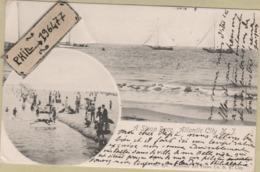 Atlantic City - Cpa / Vue. Circulé 1904. - Atlantic City