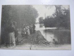 CPA 41 LOIR ET CHER - BLOIS : La Crue De La Loire En 1907 - La Ligne De Tramway Inondée - Blois
