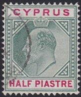 Cyprus     .    SG     .   50      .     O     .  Gebruikt    .     /    .    Cancelled - Cyprus (...-1960)