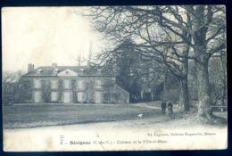 Cpa Du 22 Sévignac Château De La Ville ès Blanc   LZ57 - Otros Municipios