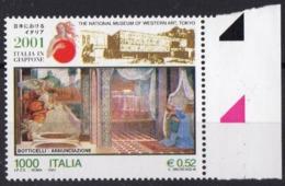 2001 ITALIE  N** 2472  MNH - 1946-.. République