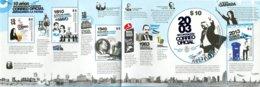 Argentine - 2013 - Yt 3003/3007 - 10 Ans De La Poste Officielle D'Argentine - **   Coin Supérieur Droit Légèrement Plié - Ungebraucht