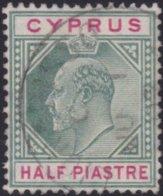 Cyprus     .    SG     .   62       .     O     .  Gebruikt    .     /    .    Cancelled - Cyprus (...-1960)