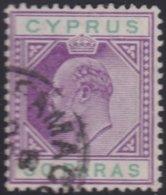 Cyprus     .    SG     .   63a       .     O     .  Gebruikt    .     /    .    Cancelled - Cyprus (...-1960)