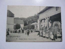 CPA 51 MARNE - CONGY : Place De La Halle - France