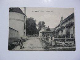 CPA 51 MARNE - CONGY : Route De Baye - France