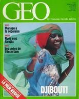 Géo N°94 : Djibouti De Collectif (1986) - Non Classés