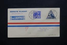 INDES NÉERLANDAISES - Enveloppe 1er Vol Batavia / Manille En 1937, Affranchissement Plaisant - L 42523 - Nederlands-Indië