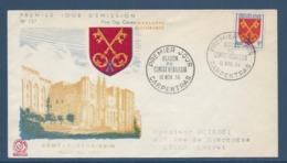 France - FDC - Premier Jour - Comtat Vénaissin - Carpentras - 1955 - FDC