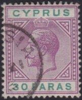 Cyprus     .    SG     .   76     .     O     .  Gebruikt    .     /    .    Cancelled - Cyprus (...-1960)