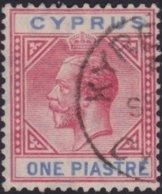 Cyprus     .    SG     .   77   .     O     .  Gebruikt    .     /    .    Cancelled - Cyprus (...-1960)