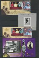 GREAT BRITAIN - 3 DIFFERENT SOUVENIR SHEETS - Cinderellas