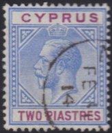 Cyprus     .    SG     .   78       .     O     .  Gebruikt    .     /    .    Cancelled - Cyprus (...-1960)