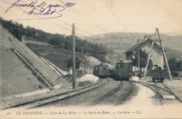 I119 - 38 - LA MOTTE-LES-BAINS - Isère - Ligne De La Mûre - Train - Otros Municipios