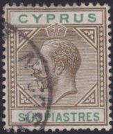 Cyprus     .    SG     .   80     .     O     .  Gebruikt    .     /    .    Cancelled - Cyprus (...-1960)