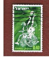 ISRAELE (ISRAEL)  - SG 404  - 1968 INT. GAMES FOR DISABLED: BASKET  - USED ° - Israele