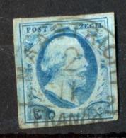 Nederland - 1952 - 5C Blue Cancel Maastricht - 1852-1890 (Wilhelm III.)