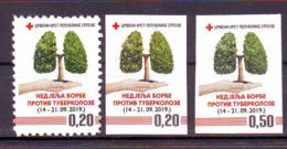 Bosnia BiH 2019 Red Cross  TBC (3) MNH - Bosnie-Herzegovine
