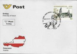 """AUSTRIA / ÖSTERREICH  - EUROPA 2018 -ANNUAL THEME - """"PUENTES.- BRIDGES - BRÜCKEN - PONTS"""" - FDC De La SERIE - 2018"""