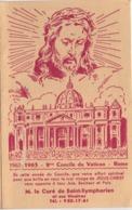 Calendrier Poche/2éme Concile Du VATICAN-Rome/ M Le Curé De St-Symphorien Et Ses Vicaires/1963             CAL464 - Non Classificati