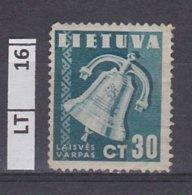 LITUANIA   1940Pace, 30 C Usato - Lituania