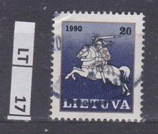 LITUANIA   1990Posta Ordinaria, 20 C Usato - Lituania