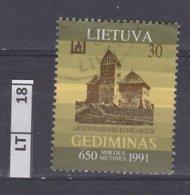 LITUANIA   1991Gediminas, 30 K Usato - Lituania