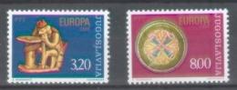 Yugoslavia 1976; Europa Cept, Michel 1635-1636.** (MNH) - Europa-CEPT