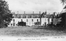 Bruz (35) - Le Château De Blossac, Façade Occidentale. - France