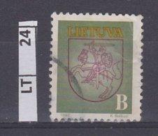 LITUANIA   1993Posta Ordinaria, B, Usato - Lituania