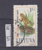 LITUANIA   1993Rana, 1 L Usato - Lituania