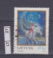LITUANIA   1996Natale, 1,20 L, Usato - Lituania