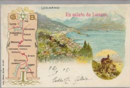 Locarno Un Saluto Da Locarno - TI Ticino
