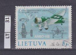 LITUANIA   1998A. Gustaitis 3 L Usato - Lituania