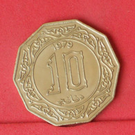 ARGERIA 10 DINAR 1979 -    KM# 110 - (Nº31391) - Algeria